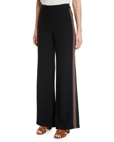 Old Town Wide-Leg Trousers