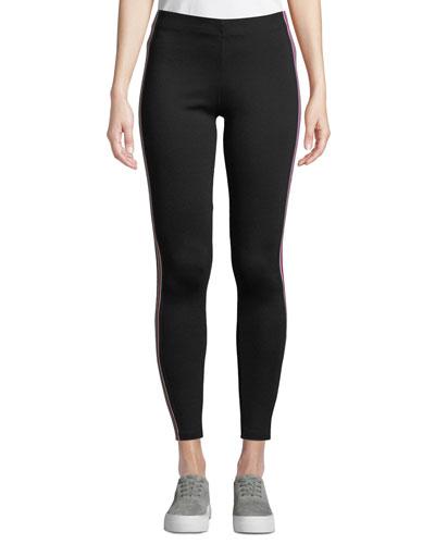 Rorie Sporty Racer Stripe Skinny Pants