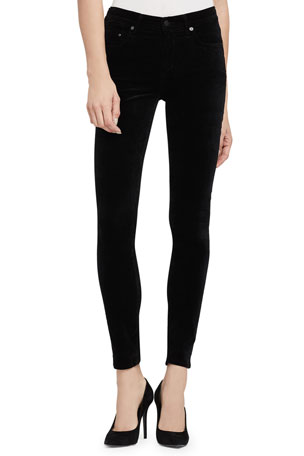 Citizens of Humanity Rocket High-Rise Skinny Jeans, Black