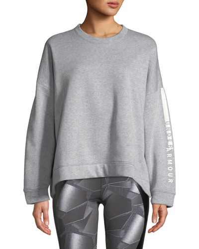 Rival Fleece Oversized Crewneck Sweatshirt