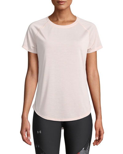 Whisperlight Strappy-Back Activewear Tee