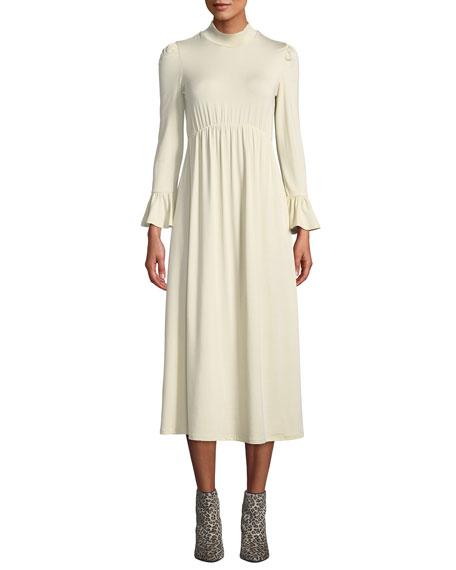 Rachel Pally PLUS SIZE AMALA MOCK-NECK LONG DRESS