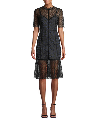 Kaila Lace Cocktail Dress