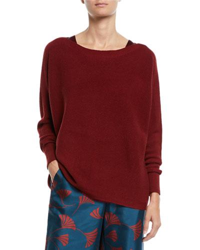Oversized Merino Wool Dolman Sweater