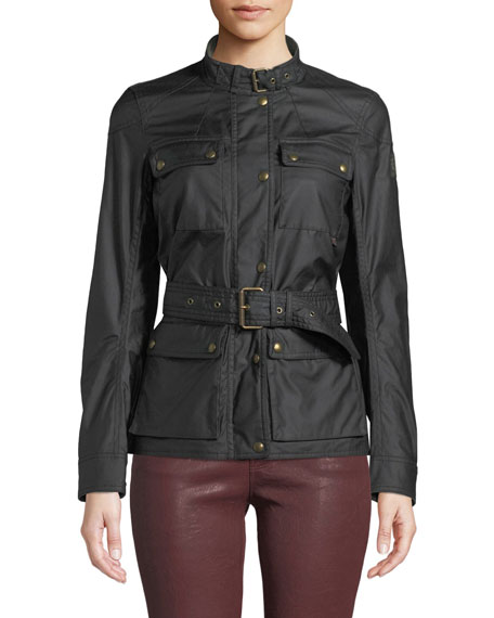 Belstaff Roadmaster 2.0 Water-Resistant Belted Jacket