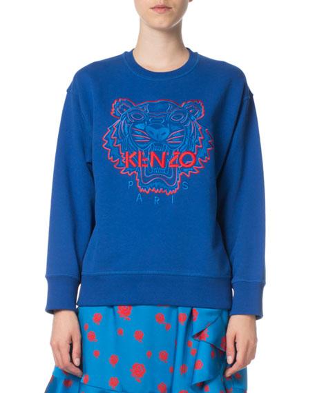 Kenzo Bicolor Tiger Comfort Sweatshirt