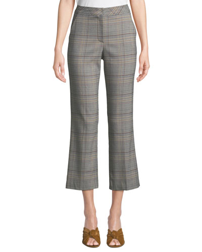 Highland Park Button-Back Pants in Plaid