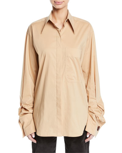 Mira Oversized Button-Down Shirt