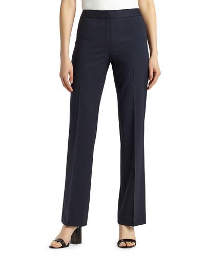 Menswear Stretch-Wool Pants