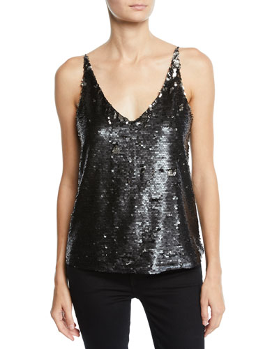 Lucy Sequin V-Neck Cami