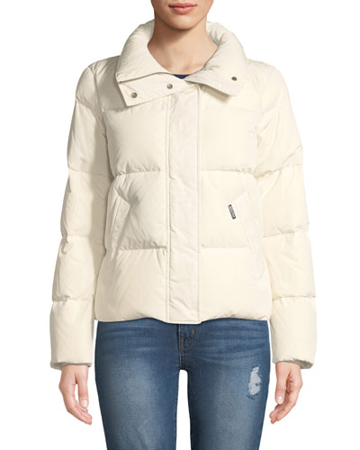 Short Puffy Down Jacket