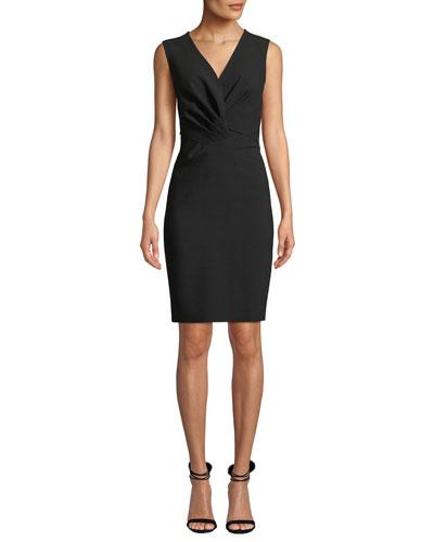Thea Sleeveless V-Neck Dress