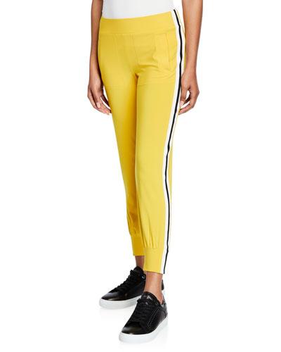 Side Stripe Pull-On Jogger Pants