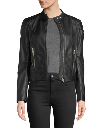 Mollison Soft Napa Leather Jacket