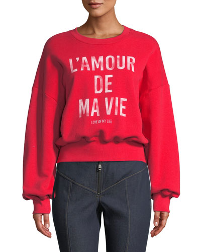 Love Of My Life Graphic Pullover Sweater