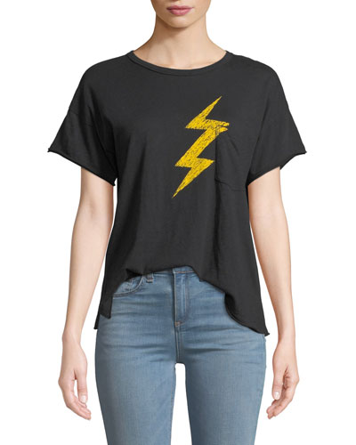 Lightning Vintage Graphic Crewneck Tee