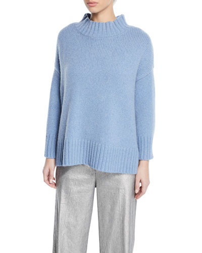 Lofty Cashmere Turtleneck Sweater