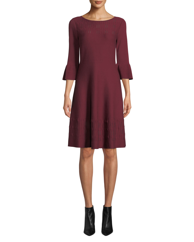 NIC+ZOE Illusion Twirl Dress, Plus Size | Neiman Marcus