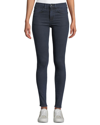 High-Rise Ankle Stretch Skinny Jeans