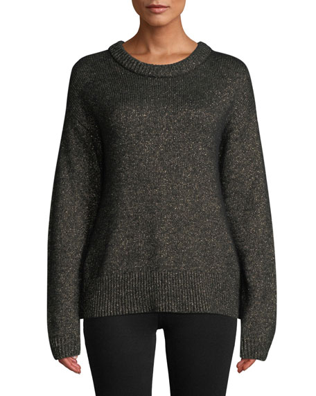 A.L.C. Bowen Metallic Pullover Sweater