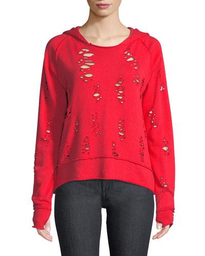 Sierra Destroyed Hooded Sweater