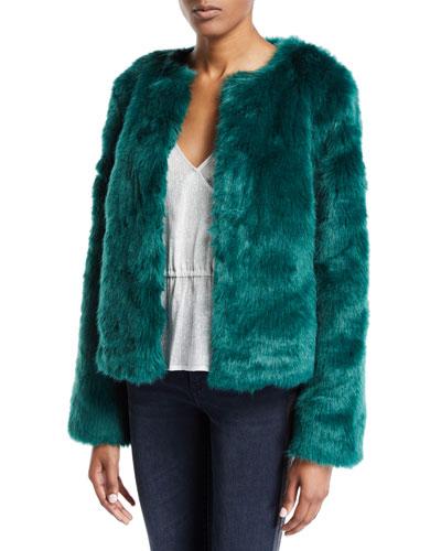 NYC Faux-Fur Jacket