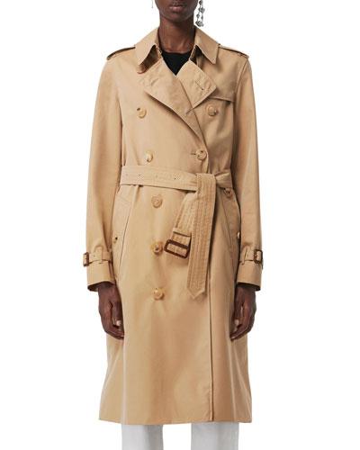 Kensington Belted Long Trench Coat