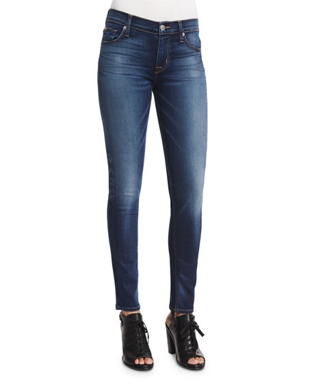 Hudson Nico Mid-Rise Skinny Jeans