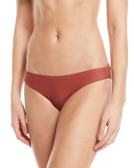 Pilyq Basic Ruched Hipster Bikini Bottoms