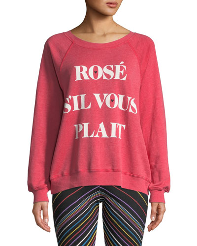 Rose Sommers Raglan Pullover Sweater