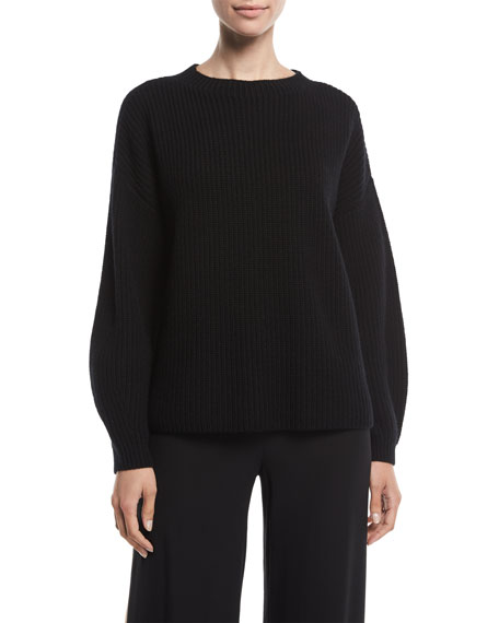 Eileen Fisher Cashmeres Cashmere Ribbed Sweater