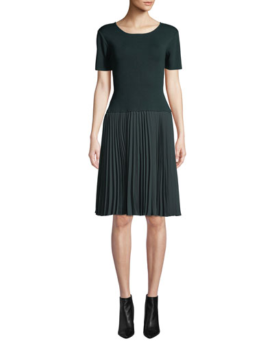Stromine Combo Pleated Dress