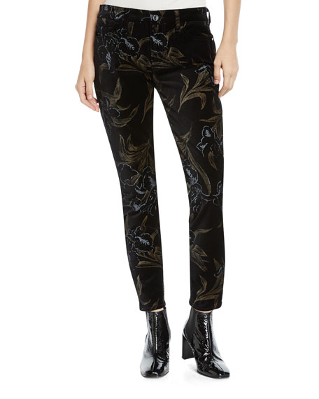 Jen7 by 7 for All Mankind Metallic Floral