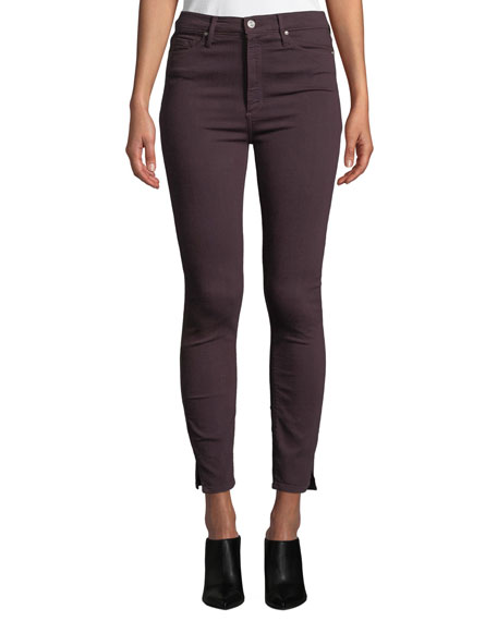 "BLACK ORCHID Kate 11"" Super High Rise Skinny Jeans in Night Shade"
