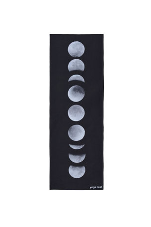 Yoga Zeal Moon Phases Printed Yoga Towel