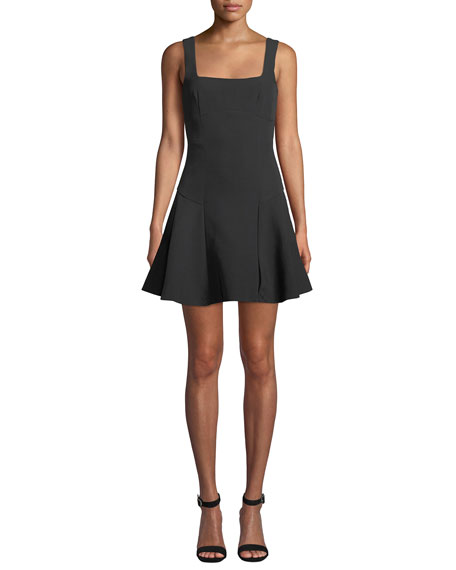 Elliatt PAVIA SQUARE-NECK SLEEVELESS MINI DRESS