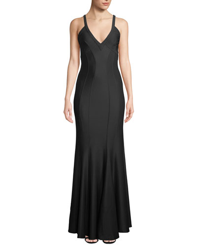 Gemma Sleeveless Body-Con Gown