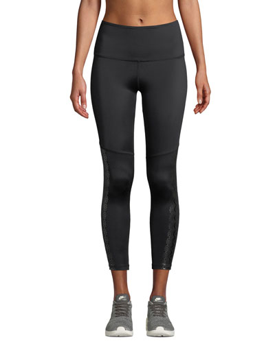 Down The Line Compression Midi Leggings