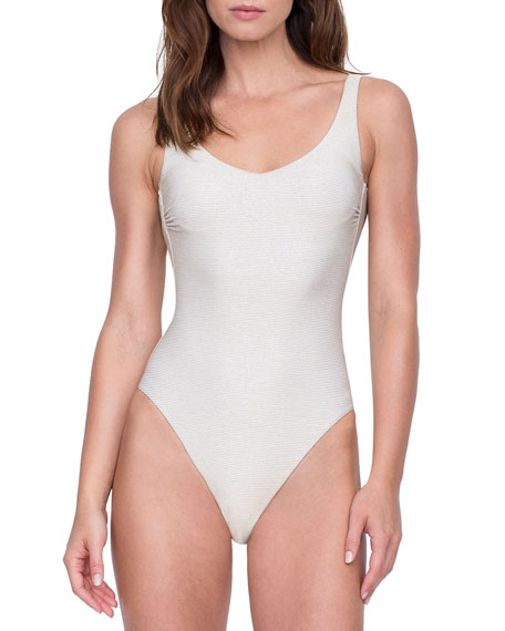 Gottex Orlena Square-Neck One-Piece Swimsuit
