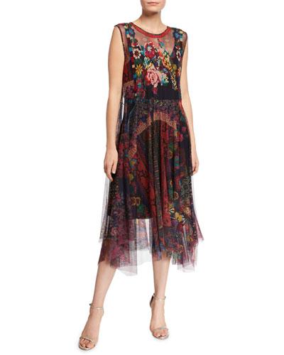 Accalia Mesh Dress