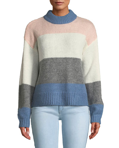 Kendall Colorblock Pullover Sweater