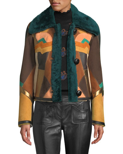 Craft Deco Shearling Jacket