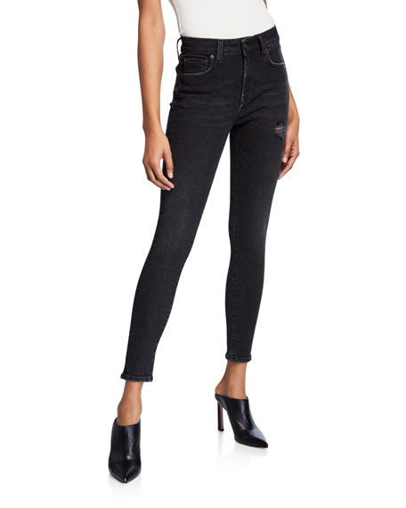 Prps CHEVELLE HIGH-RISE ANKLE SKINNY JEANS