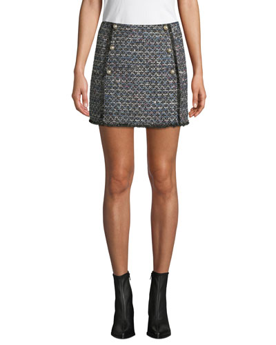 Lacie Tweed Mini Skirt
