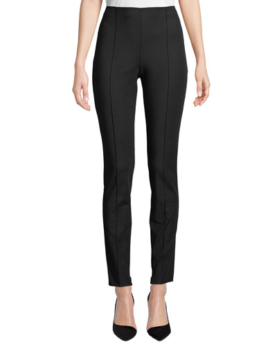 Skinny Double-Stretch Pull-On Leggings