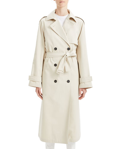 Staple Classic Crepe Long Trench Coat