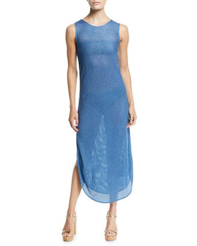 Mirage Side-Split Tank Coverup Dress