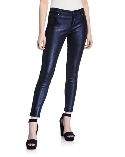 Prince Leather Ankle Pants