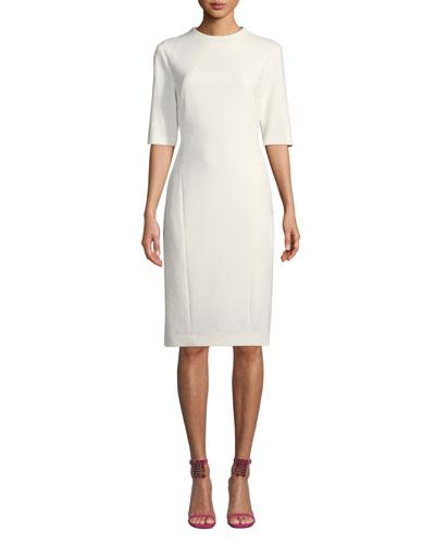 Aperitif Double-Weave Bodycon Dress