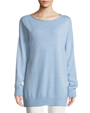 Lafayette 148 New York Cashmere Relaxed Pullover Sweater 167bb08abee